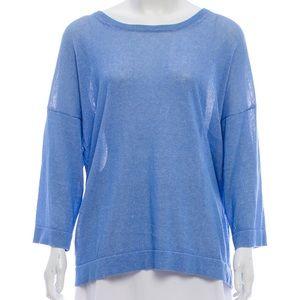 Tibi Knit Designer Long Sleeve Sweater